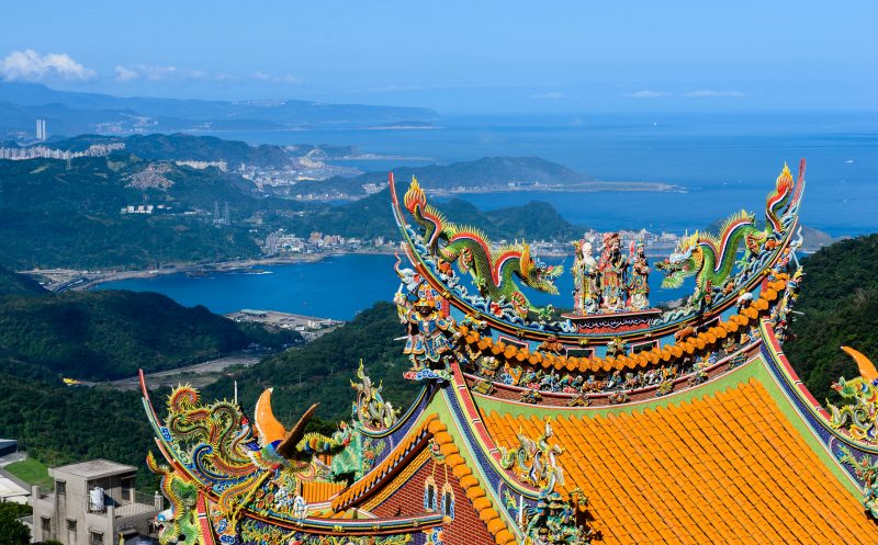 Scenic Beauty in Jiufen